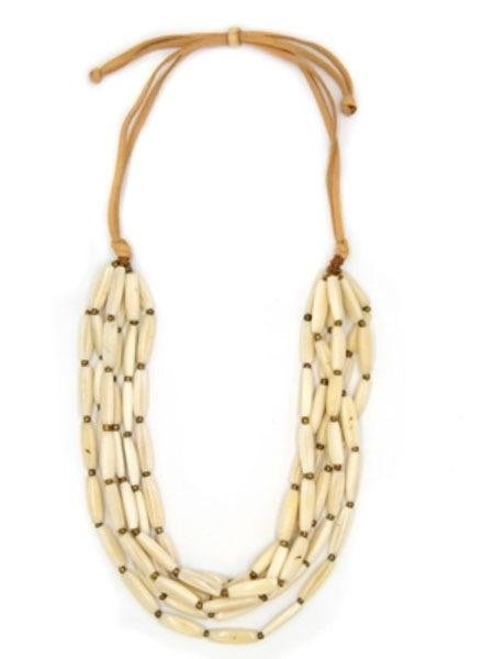 Tagua Nancy Necklace In Ivory