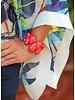Tagua Raindrop Bracelet In Limon Green