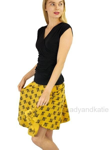 Effie's Heart Effie's Heart Carnaby Skirt In Bumble Bee