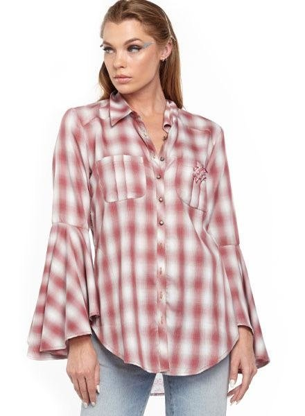Aratta Aratta's Port D'Eirissa Shirt In Red