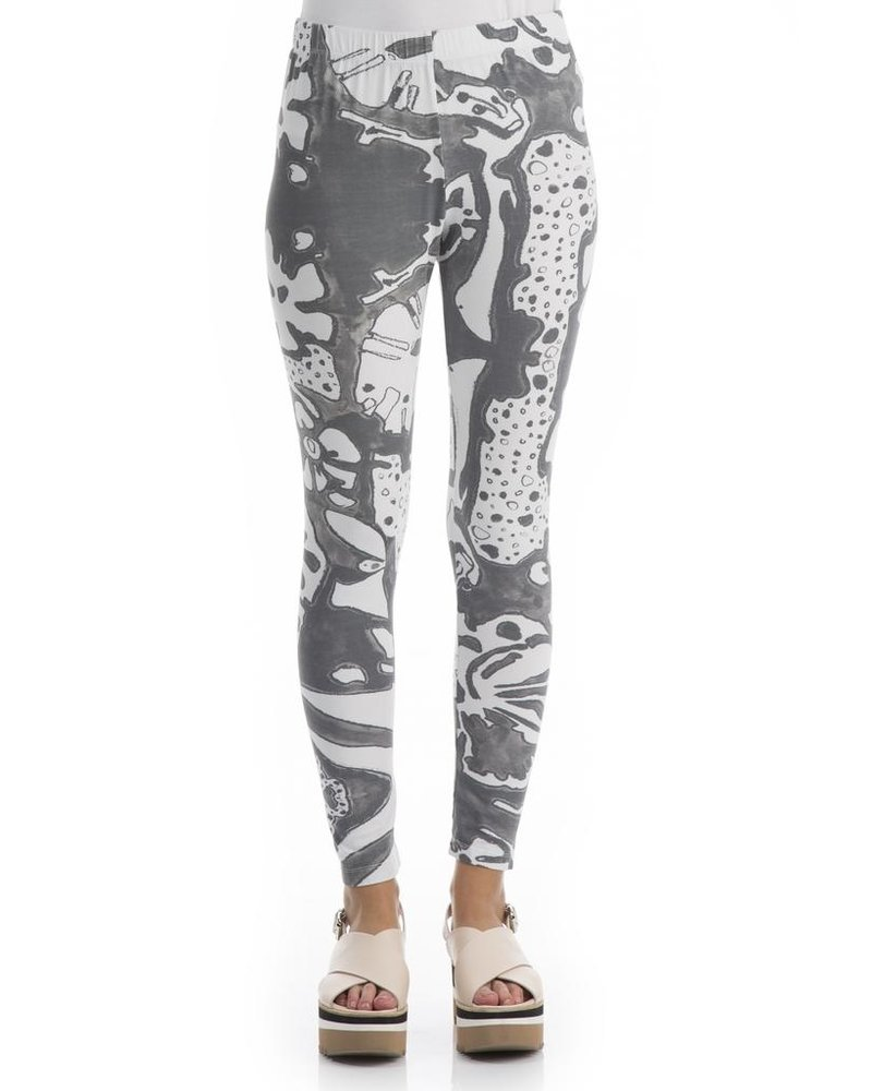 Griza S Cotton Leggings In Psychedelic Print Shady And Katie Sale Shady And Katie Apparel