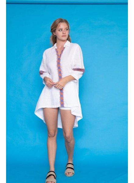 Haris Cotton Haris Cotton Meandros Tunic