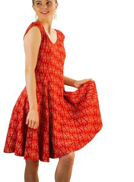 Effie's Heart Daydream Dress In Langostino