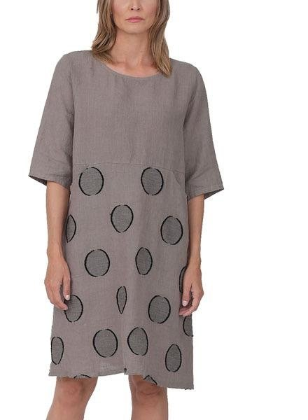 Chalet Chalet Selenis Dress In Cocoa