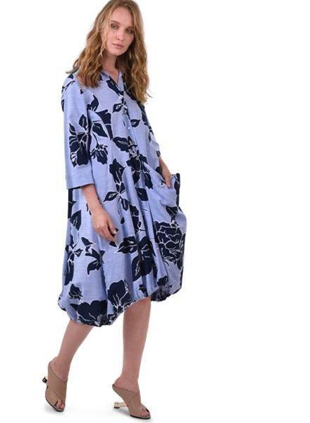 Alembika Alembika Island Print Wonderful Dress