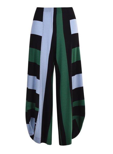 Alembika Alembika Wide Striped Punto Pant