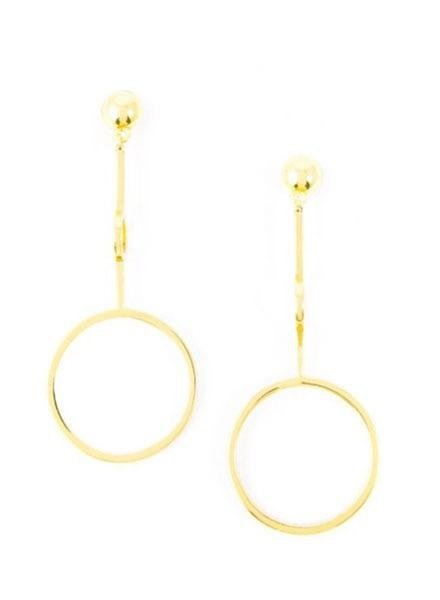 Cosmic Baubles Earrings In Gold