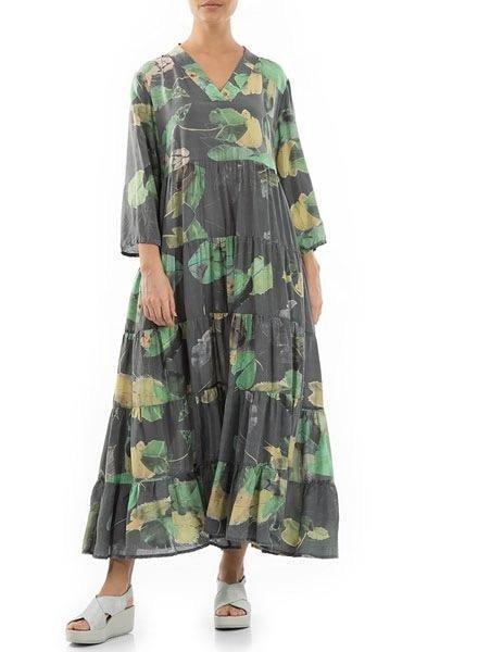 Griza Waterlillies Maxi Dress