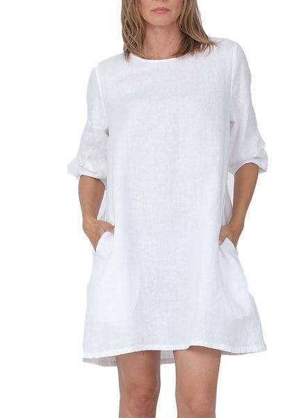 Chalet Chalet Linney Dress In White