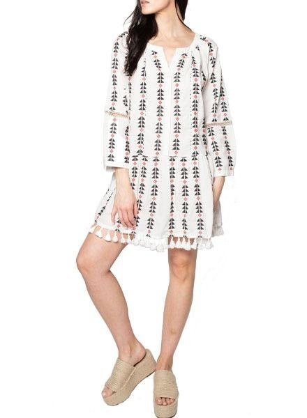 Area Stars Area Stars Sorrento Tassel Dress