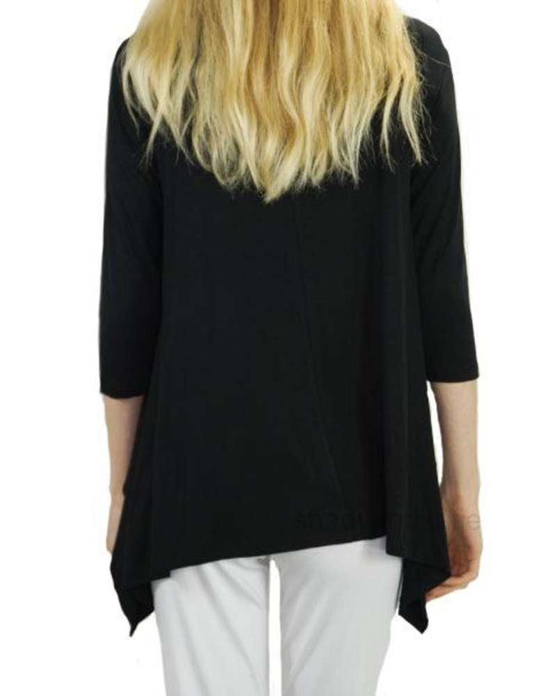 Comfy's Vancouver Tunic In Black
