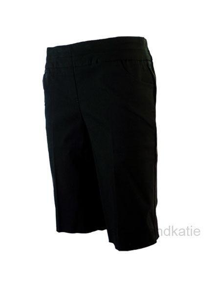 Renuar Renuar Magic Bermuda Shorts In Black