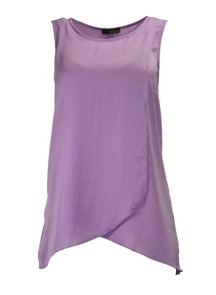 Renuar Soft As Silk Sleeveless In Violet