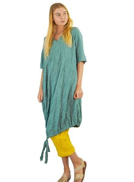 Gershon Bram Peru Dress In Light Green