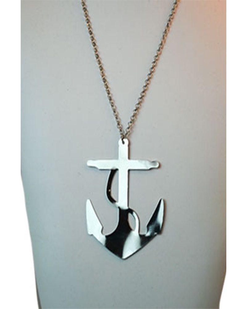 Chunky Anchor In Silver
