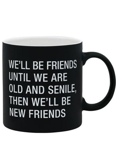 We'll Be Friends Mug