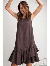 Perfect Tank Dress In Ash