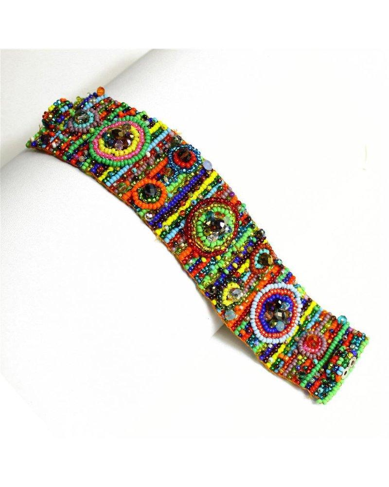 Nine Circle Magnetic Bracelet In Multi-Color