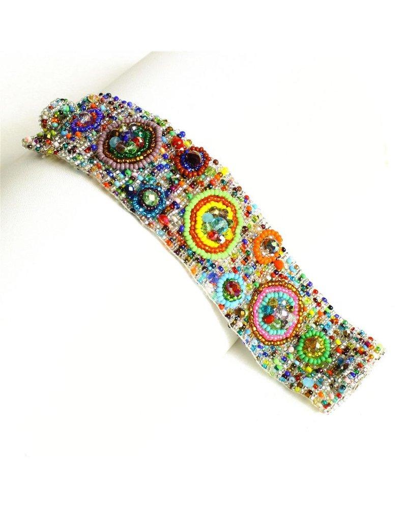 Nine Circle Magnetic Bracelet In Mix