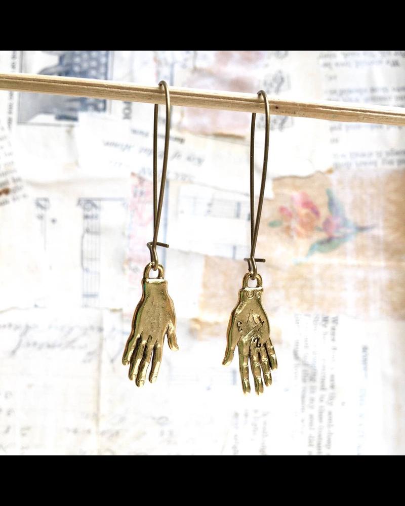 Boho Palm Reader Earrings