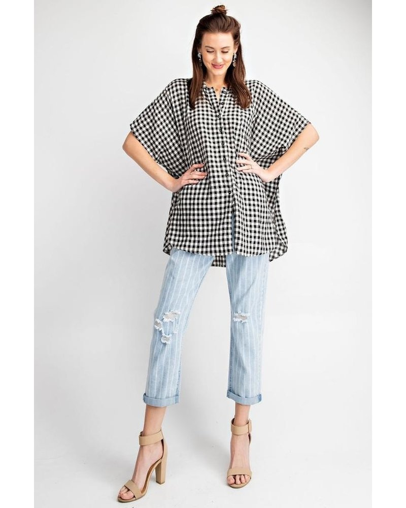 Gingham Button Down