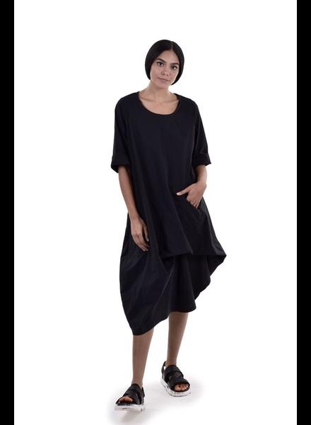 Alembika Alembika Black Asymmetrical Tunic/Dress