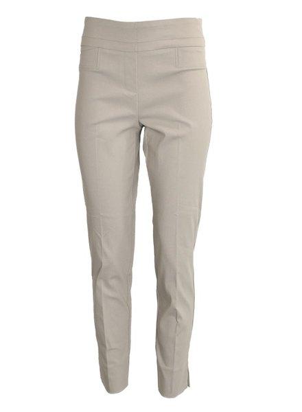 Renuar The Ankle Cigarette Magic Pant in Platinum