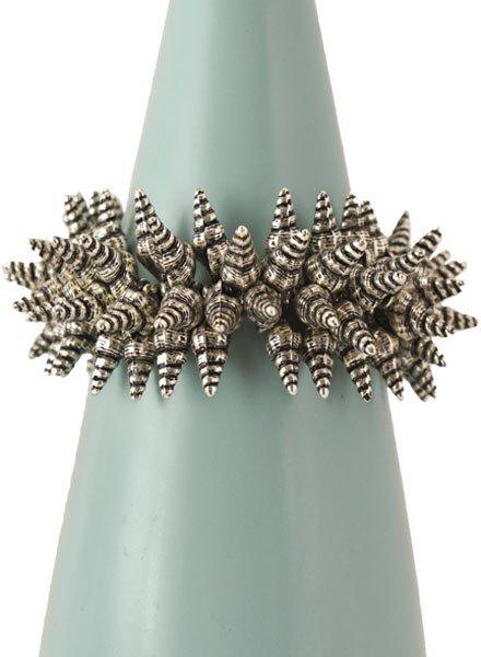 Little Spikey Horn Shell Bracelet