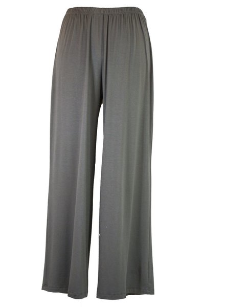 Comfy U.S.A. Comfy Long Wide Leg Pant In Charcoal