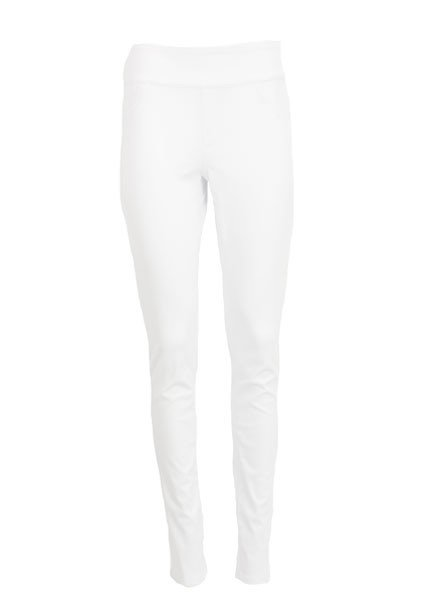 French Dressing Love Denim Slim Jegging In White Denim