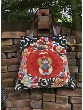 J.P. & Mattie Hill Tribe Bag with Leather Strap