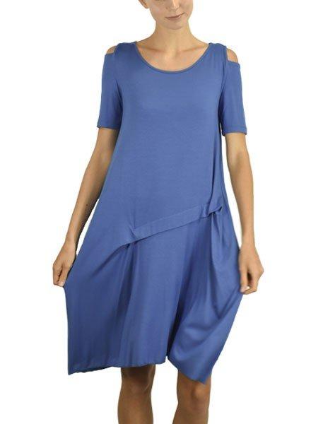Comfy's Lorraine Dress In Estate Blue