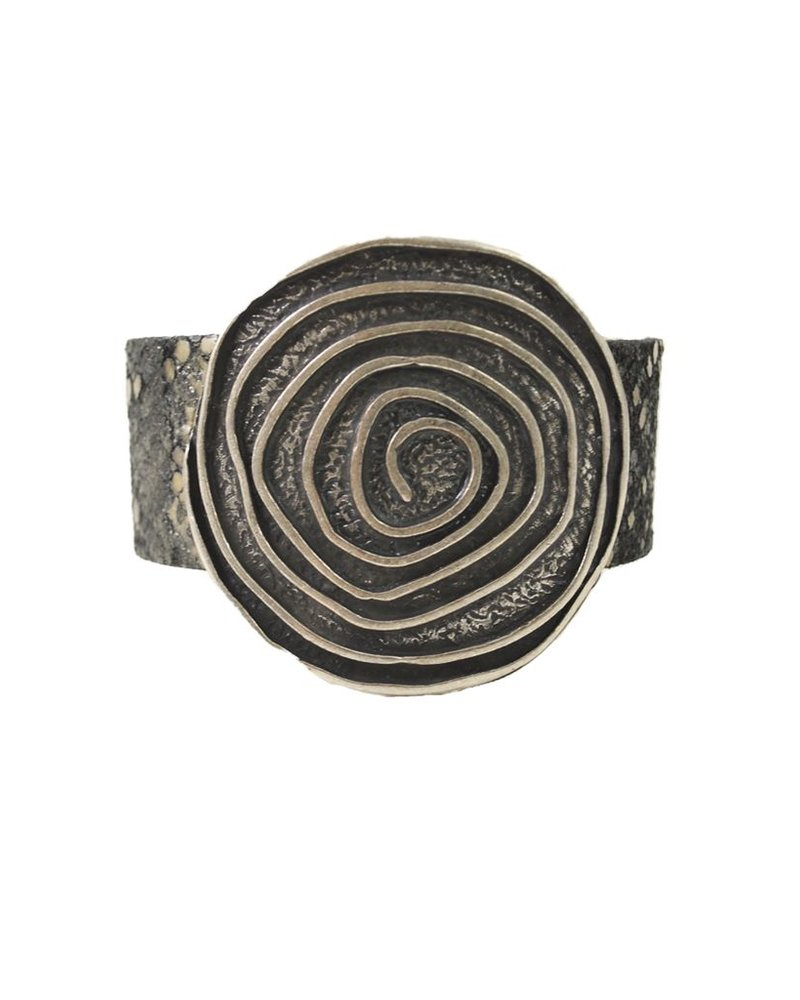 Silver Swirl and Snake Streets Ahead Bracelet