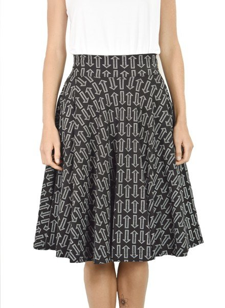 Effie's Heart Sojourn Skirt in My Way Print