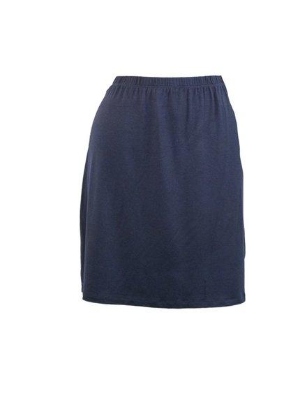 Comfy U.S.A. Comfy's Short Skirt In Navy