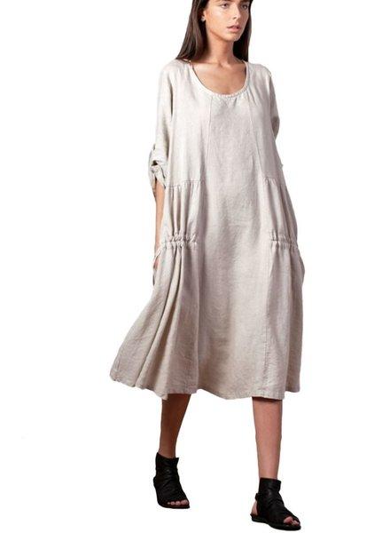 Gershon Bram Greta Dress In Natural