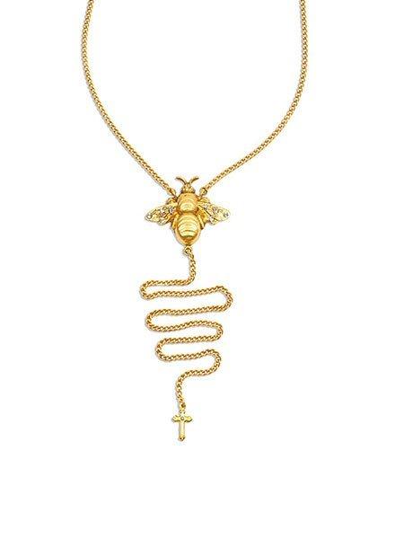 Bee Fierce Bikini Necklace