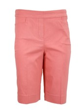 Renuar Magic Bermuda Lil' Pocket Shorts In Coral