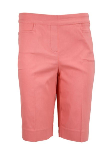 Renuar Magic Bermuda Lil' Pocket Shorts In Coral