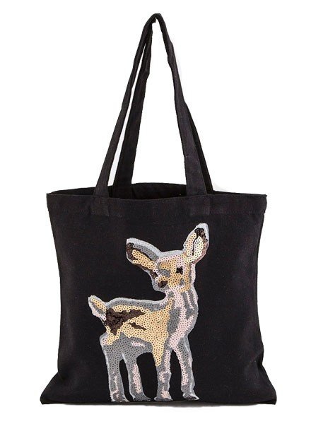 Yes Dear Tote In Black