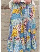 J.P. & Mattie J.P. & Mattie Hippie Skirt In Patchwork Print