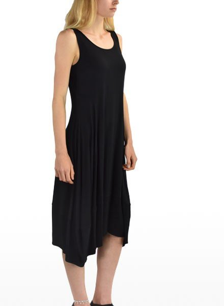 Comfy U.S.A. Comfy Lisa Dress In Black
