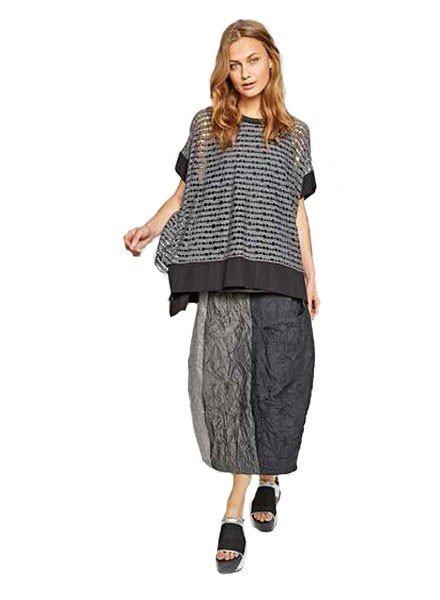Alembika Alembika's Panel Tulip Skirt