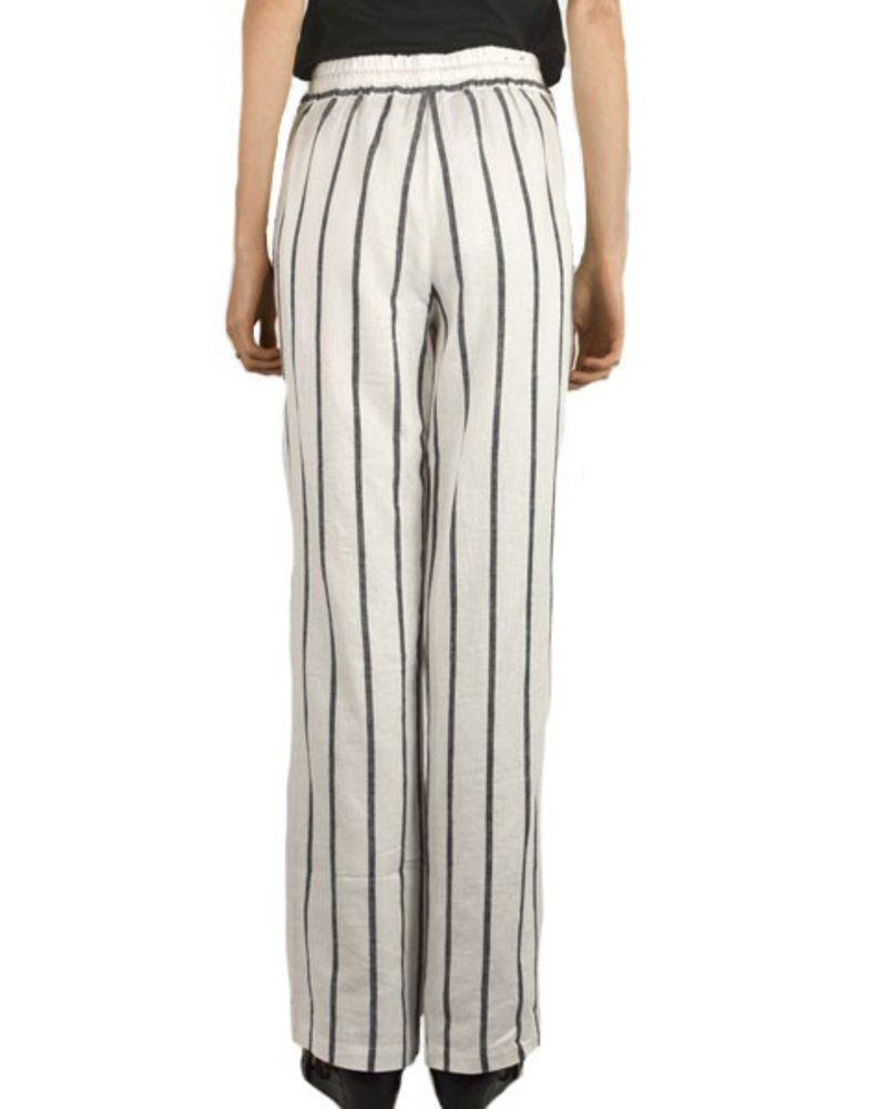 Renuar Renuar Linen Striped Pant