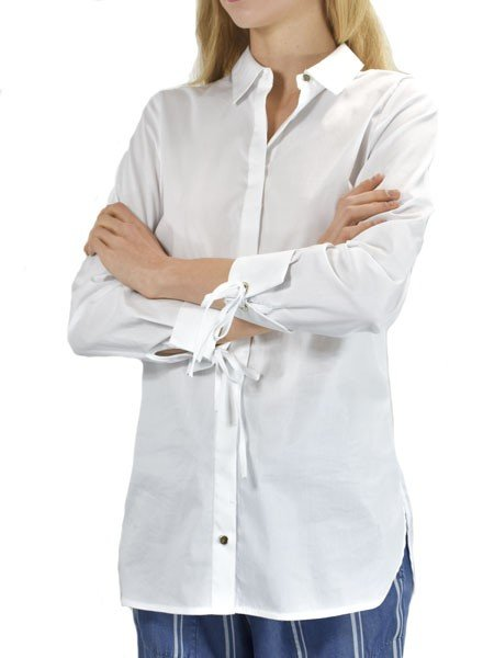 Renuar Renuar's Smart, But A Little Sassy Blouse In White