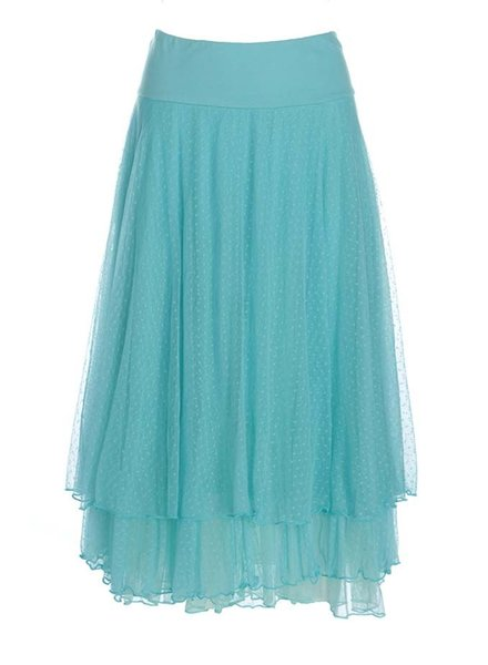 LaLamour LaLamour Petticoat In Turquoise