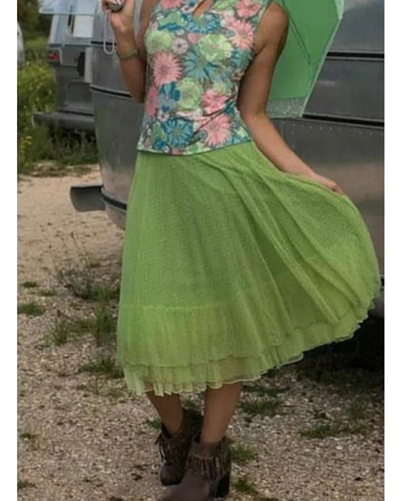 LaLamour LaLamour Petticoat In Green