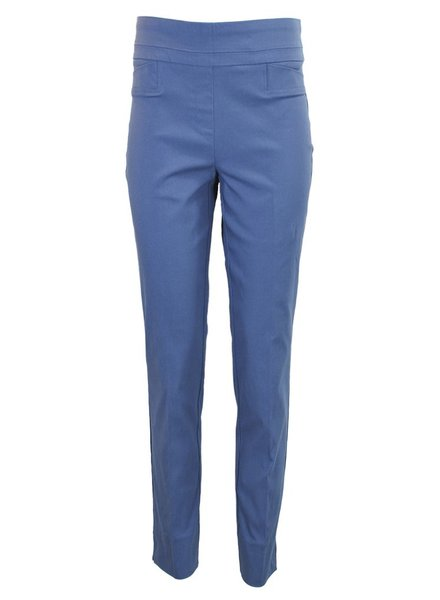 Renuar The Ankle Cigarette Magic Pant In Blue Berry