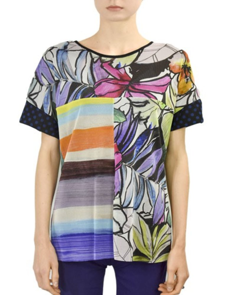 Petit Pois' Combo Tee From The Summertime Collection