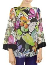 Petit Pois' Boat Neck Kimono Top From The Hamptons Collection